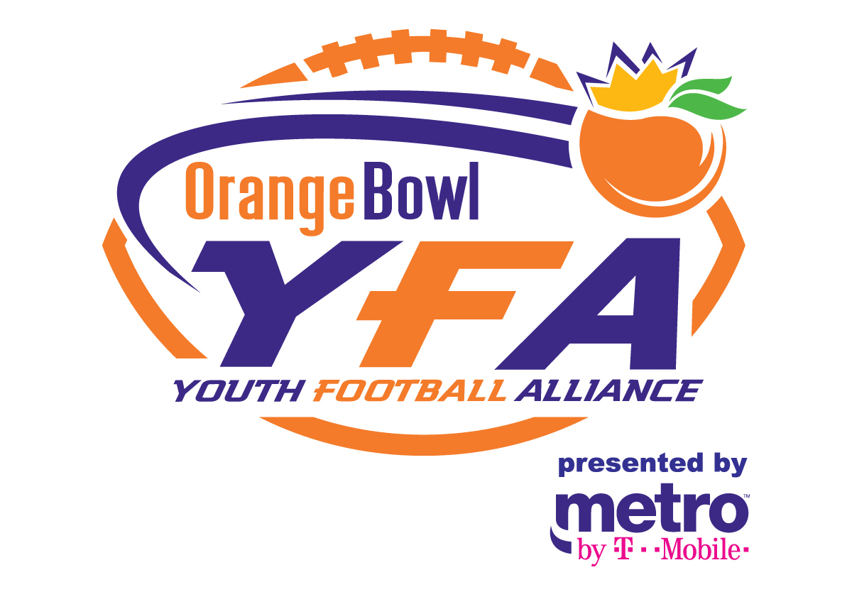The Orange Bowl Youth Football Alliance presented by Metro by T-Mobile is  comprised of the following leagues  6a24d8aeb