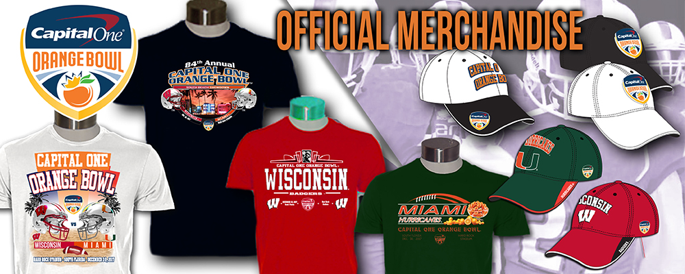 Visit the Official Merchandise Store of the Capital One Orange Bowl - All Items 20-70&#37&#59; Off