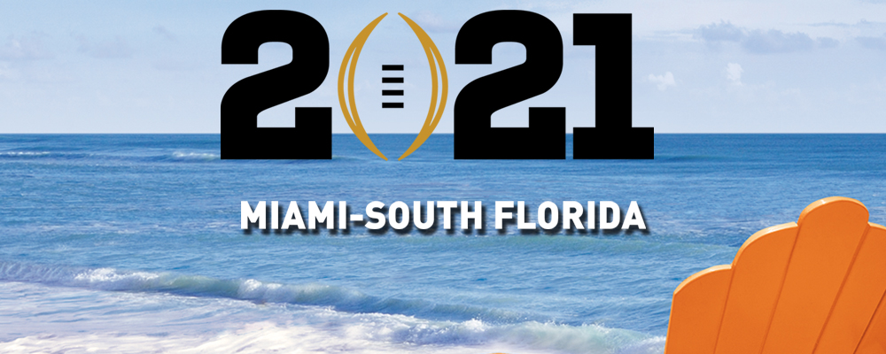 Miami-South Florida Awarded 2021 College Football Playoff National Championship