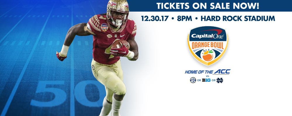 Tickets for the 2017 Capital One Orange Bowl Are Now On Sale&#33&#59; Get your tickets today&#33&#59;