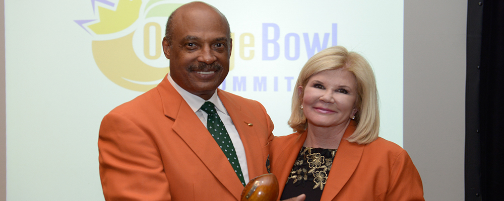 Judge Michael B. Chavies Installed as Orange Bowl Committee President &#38&#59; Chair