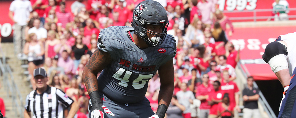 NC State&#39&#59;s Roseboro Nominated for Capital One Orange Bowl FWAA Courage Award