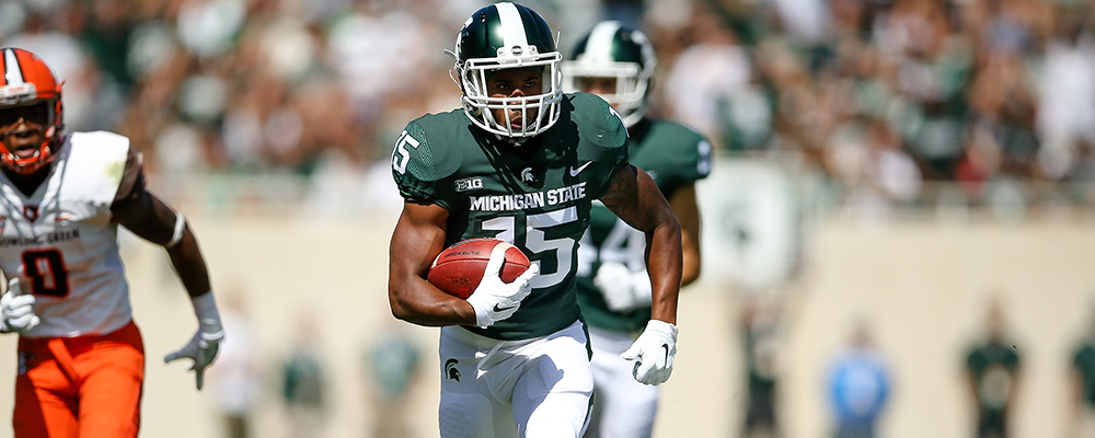 Michigan State&#39&#59;s Smith Nominated for Capital One Orange Bowl FWAA Courage Award