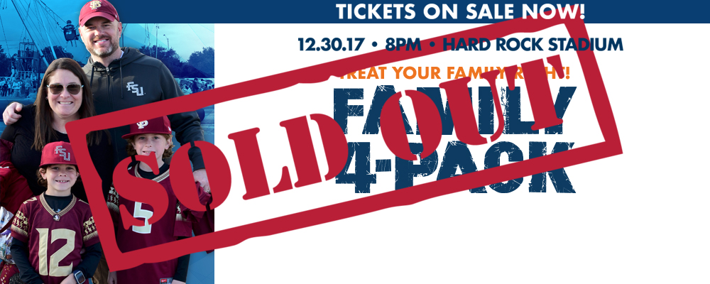The family 4-pack has sold out&#33&#59;