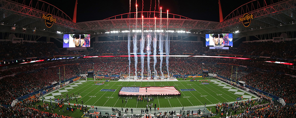 Join the Waiting List for the 2018 College Football Playoff Semifinal at the Capital One Orange Bowl&#33&#59;