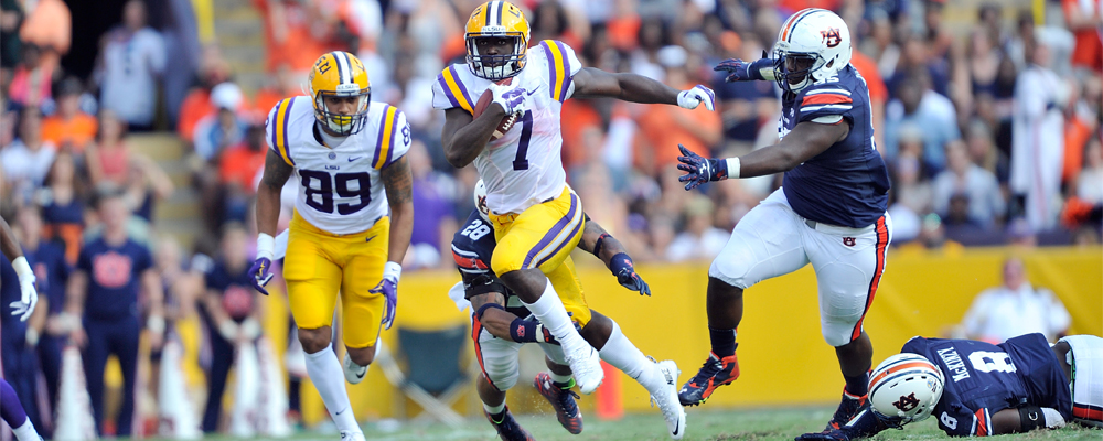 LSU&#39&#59;s Fournette Nominated for Orange Bowl-FWAA Courage Award