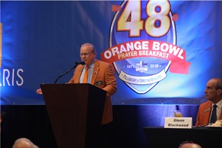 2018 Orange Bowl Prayer Breakfast
