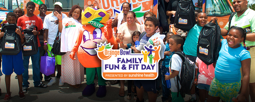 Join Us for the Orange Bowl Family Fun &#38&#59; Fit Day presented by Sunshine Health&#33&#59;