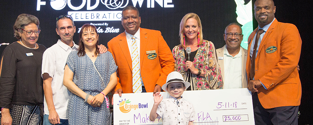 ORANGE BOWL RAISES OVER &#36&#59;100,000 FOR LOCAL NON-PROFITS AT ANNUAL ORANGE BOWL FOOD &#38&#59; WINE CELEBRATION PRESENTED BY FLORIDA BLUE