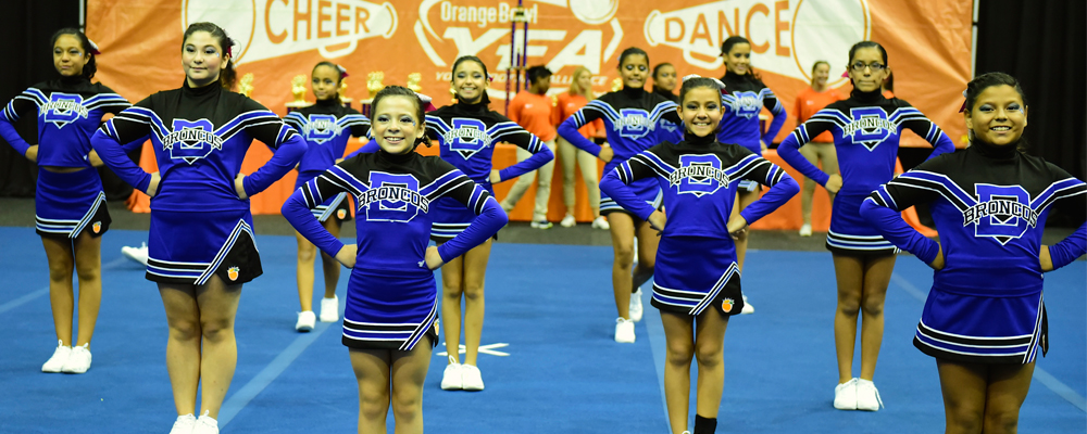 Orange Bowl YFA Cheer Championships Celebrate South Florida Youth