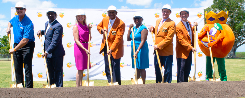 Orange Bowl and Palm Beach County Break Ground on Glades Pioneer Park Renovation