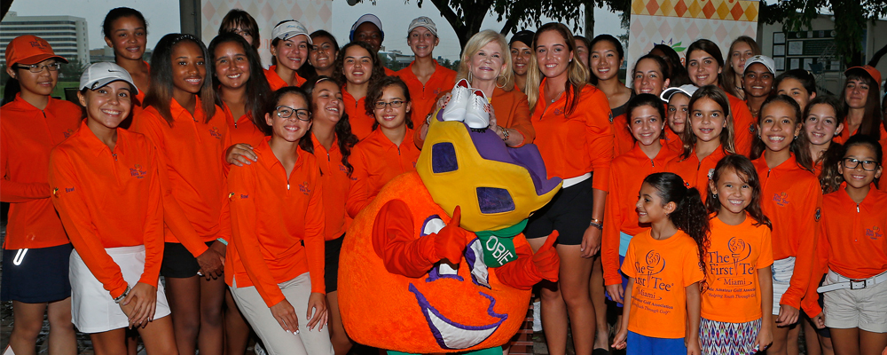 Orange Bowl Launches &#34&#59;Drive for Excellence&#34&#59; Golf Program - Empowering Girls in South Florida - In Conjunction with First Tee Miami